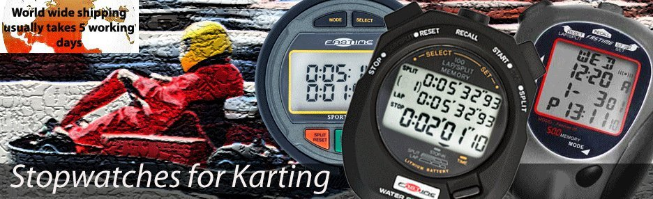 Karting Stopwatches