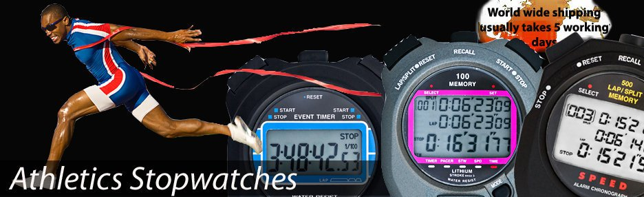 Athletics Stopwatches