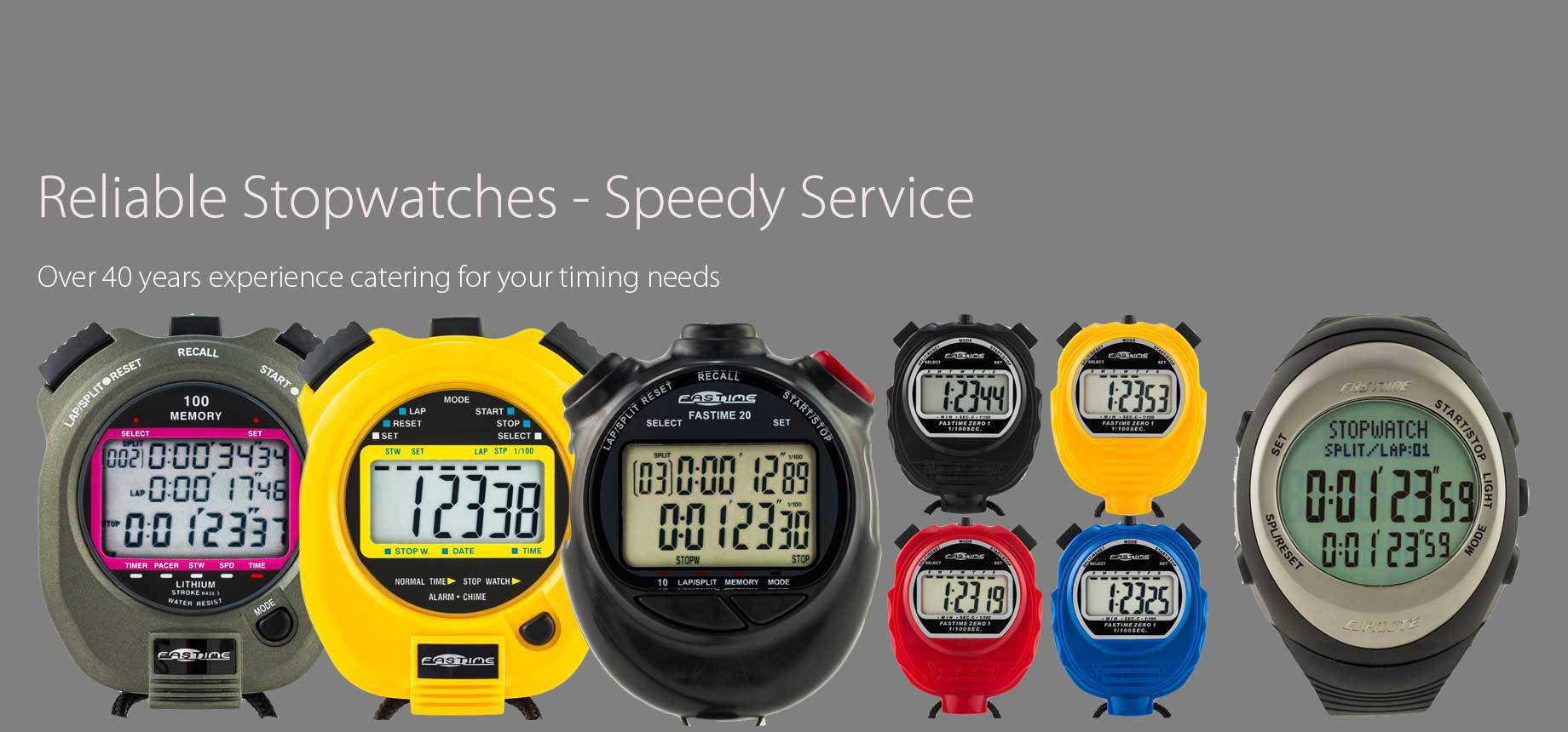 The Stopwatch Specialists
