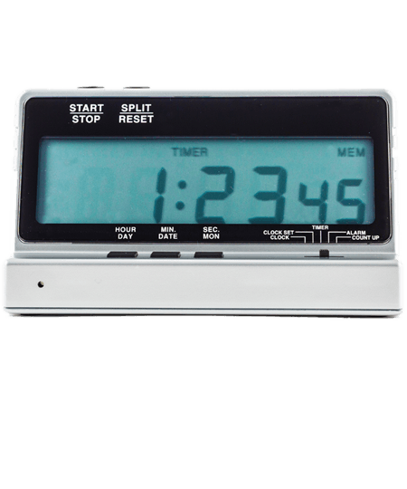 Large 25mm Digit Table Top Timer
