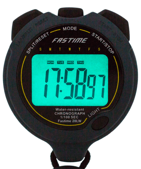 Professional Level Water Resistant Stopwatch