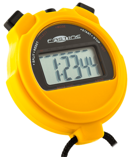 Large digit single display stopwatch