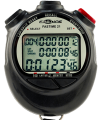 Stopwatch with 100 Lap Memory - Fastime 21