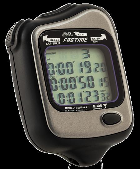 80 Lap memory stopwatch