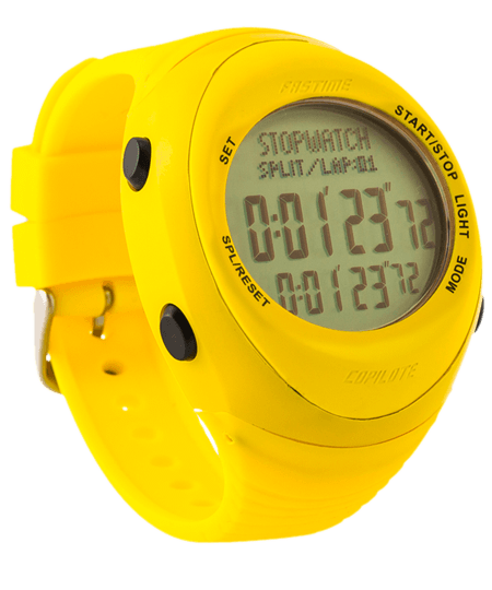 Fastime Copilote Rally Watch All Yellow
