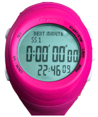 Rally Watch - Fast Copilote RW3 Pink