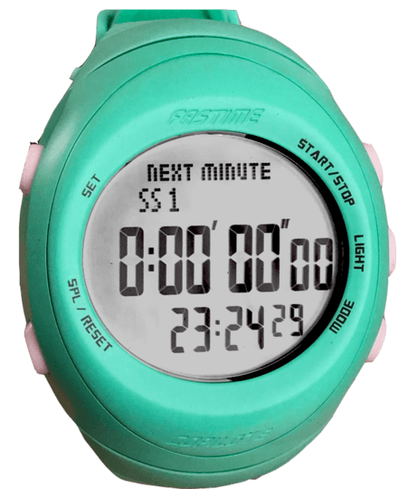 Fast RW3 Copilote Rally Watch Turquoise