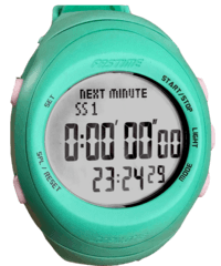 Rally Watch - Fast RW3 Copilote Rally Watch Turquoise