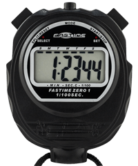 Fastime 01 - Black Promotional Stopwatch