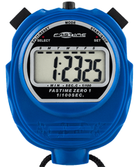 Fastime 01 - Blue Promotional Stopwatch