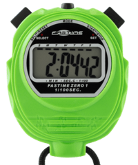 Educational Stopwatch with extra large display - Fastime 01 - Green