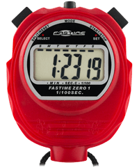 Fastime 01 - Red Promotional Stopwatch