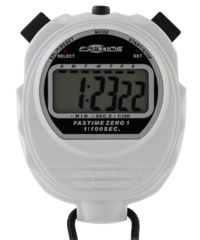 Educational Stopwatch with extra large display - Fastime 01 - White