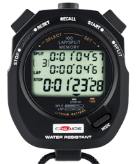 Fastime 10 Circuit Racing Stopwatch with 100 Lap Memory