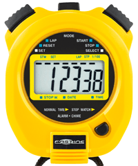Fastime 2 Running Stopwatch - Yellow