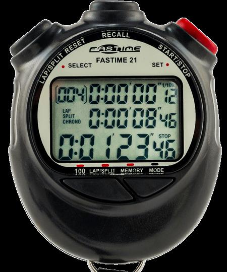 100 Lap Memory Chronomètre