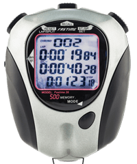 Fastime 26 Motosport Stopwatch with Data Download