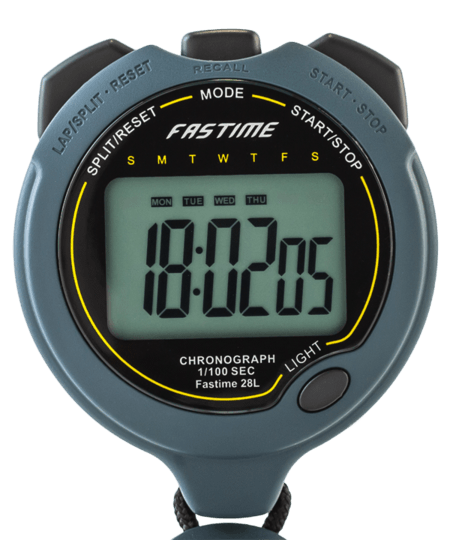 Professional Single Display Stopwatch With Backlight