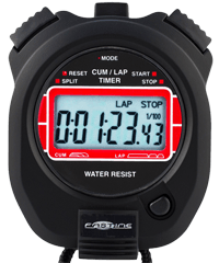 Basic Training Stopwatch with cumulative and lap splits - Fastime 4