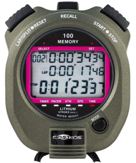 Professional 100 lap memory stopwatch On Offer as No Beep. Otherwise all other functions working