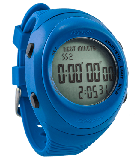 Fastime Copilote Rally Watch Blue
