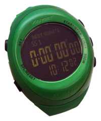 Fastime Copilote Watch Green Black Display Complete Range of Fastime C