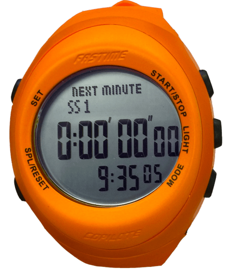 Fastime Copilote Watch Orange