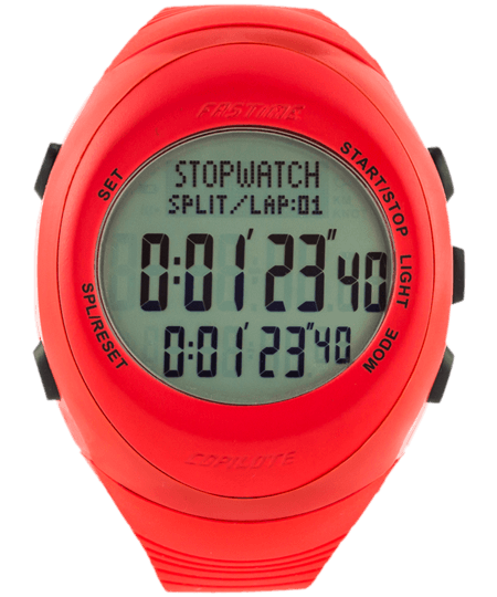 Fastime Copilote Rally Watch All Red