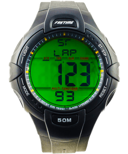 Runners Watch With Extra Large Display